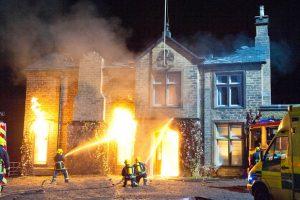 Emmerdale Home Farm Fire