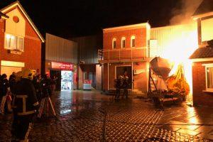 Firefighting Action Scene