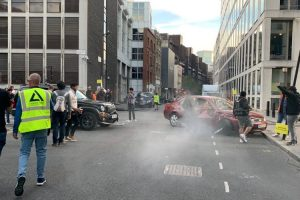 London Car Stunt